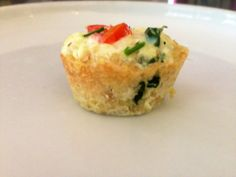 Quinoa & Egg White Quiche Bites!   Delish, satisfying & ONLY 20 CALORIES   A MUST-try!   Enjoy! :) For MORE RECIPES please SIGN UP for our FREE NEWSLETTER www.NutritionTwins.com