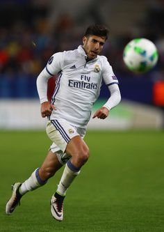 Marco Asensio of Real Madrid during the UEFA Super Cup match between Real Madrid and Sevilla at Lerkendal Stadium on August 9, 2016 in Trondheim, Norway. (Aug. 8, 2016 - Source: Michael Steele/Getty Images Europe)