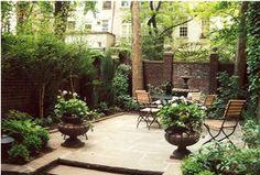 house & Garden townhouse gardens' - Google Search