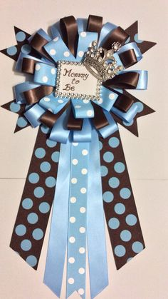 Little prince baby shower mommy to be pin  by Marshmallowfavors, $25.00