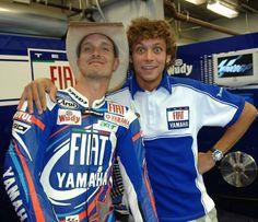 Colin Edwards & Valentino Rossi