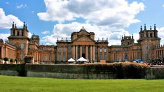 Blenheim Palace, Royal residence, Woodstock, England from Ivanka's little treasures  Hello everyone... Blenheim Palace is a monumental country house situated in Woodstock, Oxfordshire, England. It is the principal residence of the Dukes of Marlborough, and the only non-royal non-episcopal country house in England to hold the title of palace. The palace, one of England's largest houses, was built between 1705 and circa 1722. Blenheim Palace was designated a UNESCO World Heritage Site in 1987.