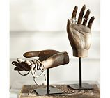 Carved Wood Hands, Set of 2 | Pottery Barn