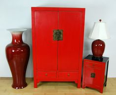 In feng shui practice, red is coveted as the ultimate yang color used to strengthen and energize the home.