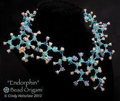 Endorphin Molecule - Cindy Holsclaw - Bead Origami