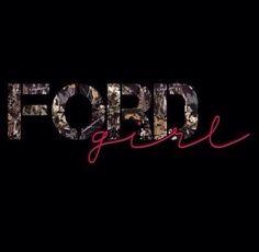 Camo Ford girl