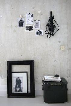 Memories on concrete   Desiree's living room ( Vosges Paris)