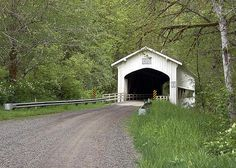 Deadwood Covered Bridge, Lane County