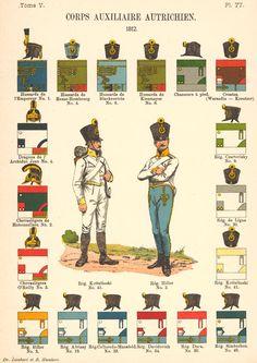Austrian Uniforms, 1812