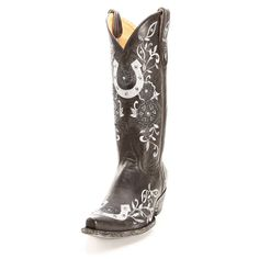 Old Gringo Black Lucky Cowgirl Boots