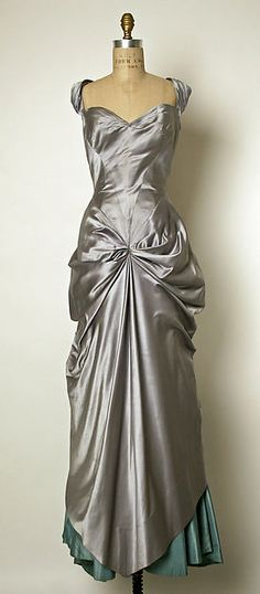 Ball gown Designer: Charles James (American, born Great Britain, 1906–1978) Date: 1950–52 Culture: American Medium: silk Dimensions: Length at CB: 64 in. (162.6 cm) Credit Line: Gift of Marietta Tree, 1965