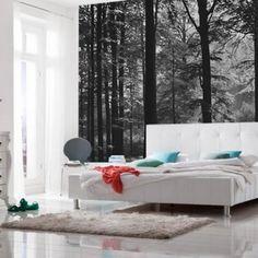 Purple Bedroom Interior Deep Pink Create Your Diy Wallpaper Room