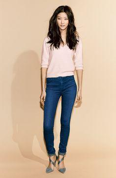 J Brand 'Maria' High Rise Skinny Jeans (Supreme) (Nordstrom Exclusive) | Nordstrom