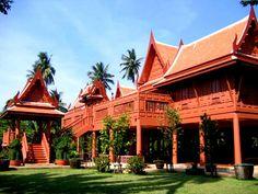 Traditional Thai housevery nice wood thai house      Home design   Pinterest   Thai  . Thai Home Design. Home Design Ideas