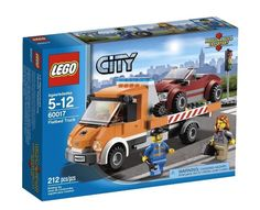 LEGO City 60017 Flatbed Truck New/Sealed BNIB Retired Set!! 212pcs  Ages 5-12 #LEGO