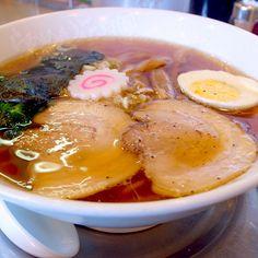 Ramen, 竹食堂のラーメン