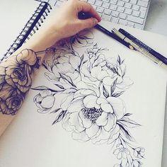 What a nice tattoo idea #beautytatoos