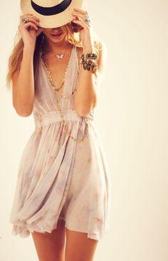 halter mini dress in splatter tie dye after the rain by LoveShackFancy. Want this now!