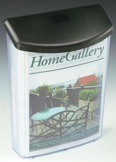 Outdoor Brochure Holders Wall Mount