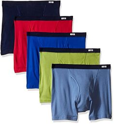 Fruit of the Loom Men's  5-Pack No Ride Up Covered Waistband Boxer Brief, Assorted,Large Fruit of the Loom http://www.amazon.com/dp/B00IPKNURM/ref=cm_sw_r_pi_dp_SDD9wb0QR5MKC