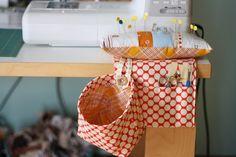 pincushion / sewing helpers