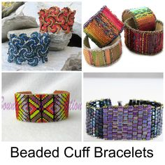 Ready to try out a new technique? Take those beautiful beads you love working with and turn them into beaded cuff bracelets! Here are 9 tutorials that'll show you how.