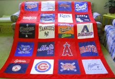 Memory T-Shirt Quilt (made to order)
