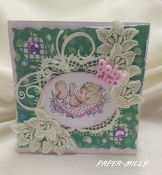 Le Tre Pazze PAPERine-baby card