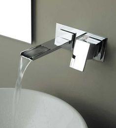 2 hole wall-mounted washbasin single handle mixer tap DIVE BANDINI RUBINETTERIE