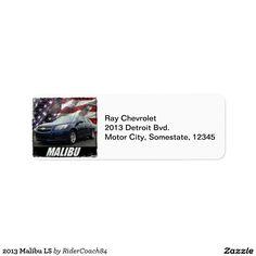 2013 Malibu LS Label