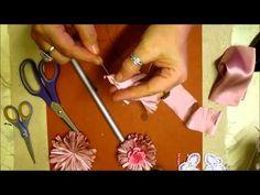 Frilly Daisy Flower Tutorial - jennings644 - YouTube