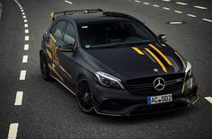 Mercedes Benz – One Stop Classic Car News & Tips Mercedes Gla 250, Mercedes A45 Amg, Mercedes Black, Mercedes A Class, Mercedes Benz Cars, Street Racing Cars, Benz A Class, Ford Mustang Car, High Performance Cars