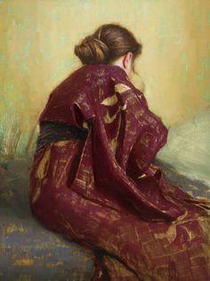 Aaron Westerberg, Crimson Kimono, c 2014