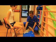 Esercizi di propriocezione del ginocchio dopo intervento al menisco - YouTube