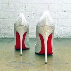 Louboutin Don't Give Up, Pumps, Heels, Christian Louboutin, Sparkles, Shoe, Weddings, Twitter, Instagram