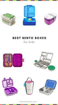 Best Bento Box Containers for kids | How to pack a fun and healthy school lunch for kids from kindergartners to teens | Back to School Guide