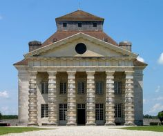 Arc-et-Senans 1770  Royal Saltworks Claude Nicolas Ledoux