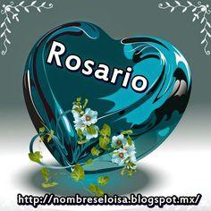 NombresEloisa.Blogspot.mx: Corazón Azul con Nombres