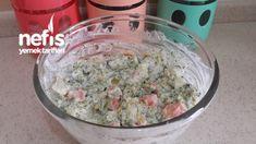 Yoğurtlu Karnabahar Brokoli Salatası - Nefis Yemek Tarifleri - Elizan Oatmeal, Grains, Breakfast, Food, Morning Coffee, Essen, Yemek, Morning Breakfast, Eten
