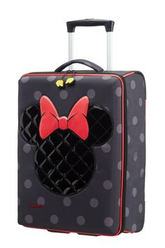 Shop Disney Ultimate Upright Minnie Iconic in the official Samsonite Online Store. Discover our vast range of suitcases, laptop bags and other luggage. Disney Handbags, Disney Purse, Disney Gift, Disney Luggage, Disney Collection, Cute Suitcases, Disney Inspired Fashion, Mickey Minnie Mouse, Minnie Mouse Suitcase