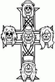 Dibujos Para Colorear Guns N Roses