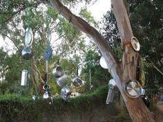 Music tree at Penbank School Study Tour ≈≈ http://www.pinterest.com/kinderooacademy/preschool-outdoor-play-environments/