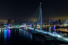 Лучшие инженерные сооружения: Мост Эра́зма (нидерл.Erasmusbrug)— вантовый мост...