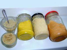 5_recept-na-domaci-horcici Korn, Hummus, Cooking Recipes, Pudding, Homemade, Vegan, Baking, Desserts, Decor