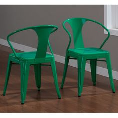 Tabouret Emerald Stacking Chairs (Set of 4) Write a review Today $186.99