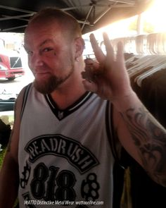 Ivan Moody of Five Finger Death Punch Ivan Moody, My Favorite Music, My Favorite Things, Who Plays It, I Fall In Love, My Love, Five Fingers, Bmth, Just Amazing