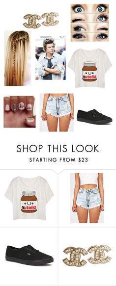 """""""Untitled #238"""" by kellishea ❤ liked on Polyvore featuring moda, Vans ve Chanel"""