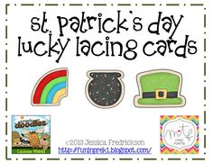 Easter Cookie Lacing Cards