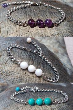 """Jednoduché a přitom nepřehlédnutelné...takové jsou naše nové náramky z kolekce """"Sirael"""" 🤗 Beaded Bracelets, Jewelry, Design, Fashion, Moda, Jewlery, Jewerly, Fashion Styles, Pearl Bracelets"""
