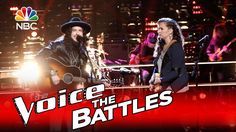 """His faces lol! Can't help but love him lol The Voice 2016 Battle - Josh Halverson vs. Kylie Rothfield: """"House of th..."""